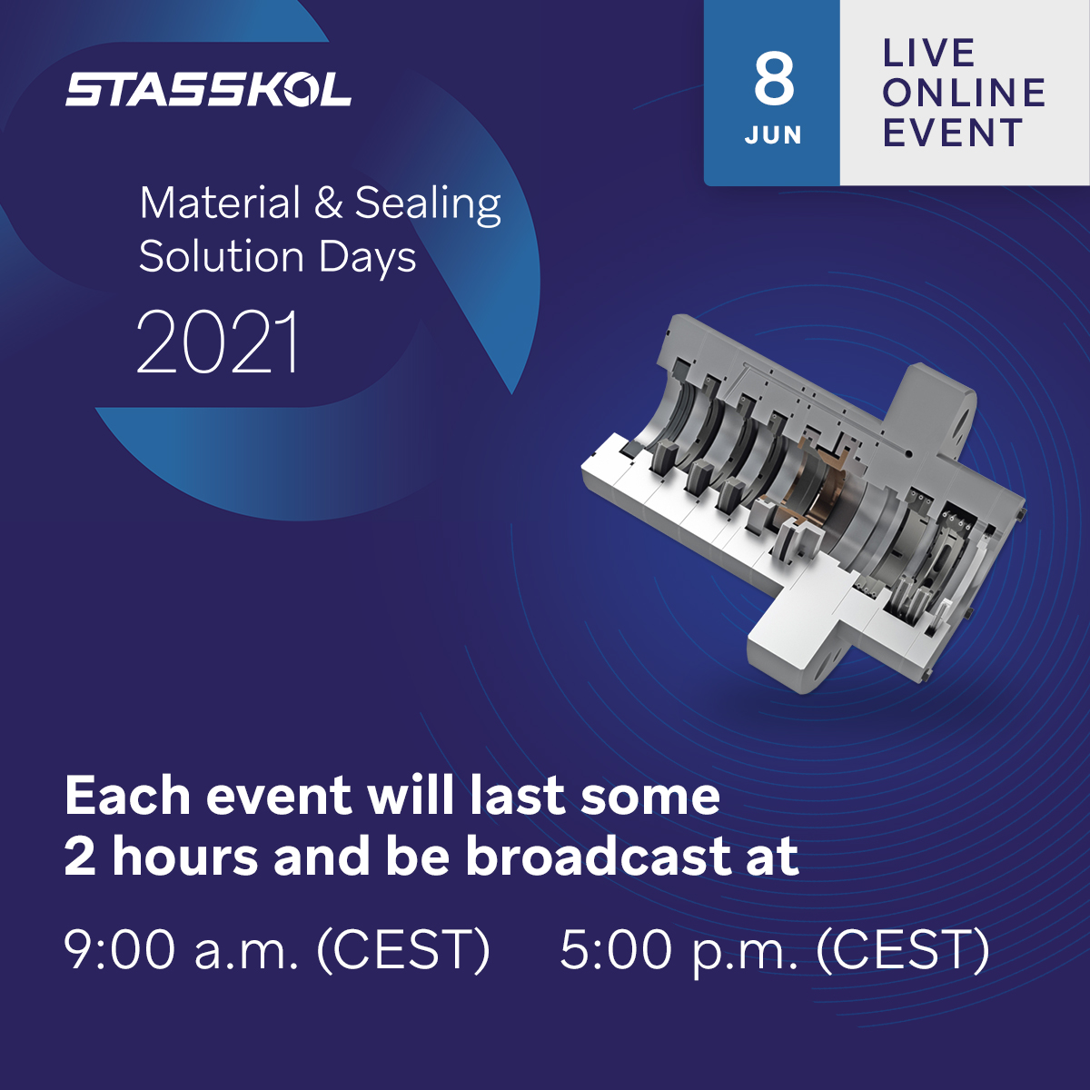 June 8th - The Art of Sealing - Low emission packing solutions for recips